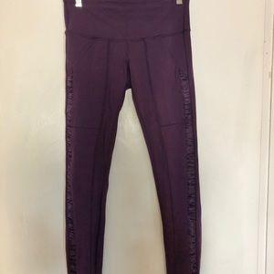 Lululemon Purple high waisted leggings, size 6
